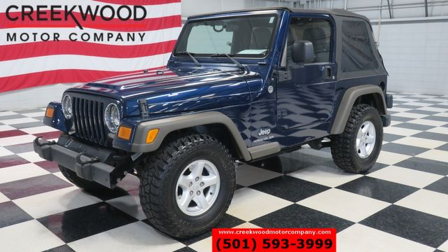 2005 Jeep Wrangler X 4x4 V6 4.0L Automatic Soft Top 2 Door Low Miles in Searcy, AR 72143