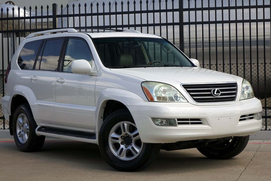 U003c 2005 Lexus GX 470 ***PEARL WHITE NO ACCIDENTS*** GX  ...