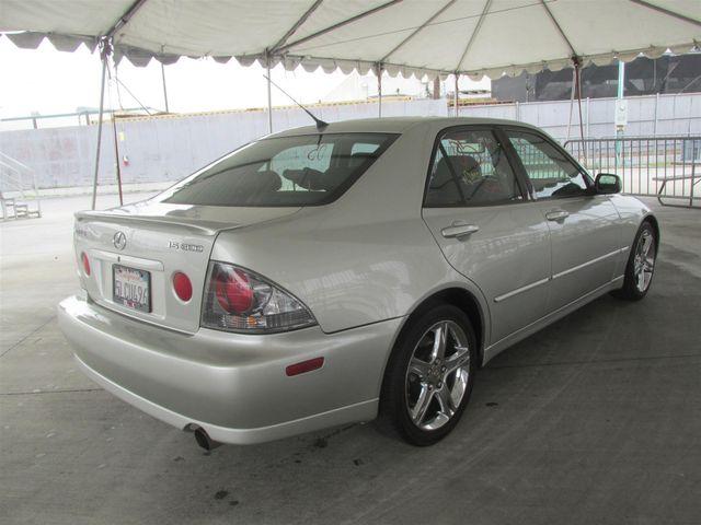 2005 Lexus IS 300 Sport Gardena, California 2