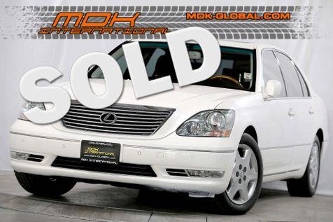 2005 Lexus LS 430 - Premium pkg - Only 64K miles since new in Los Angeles