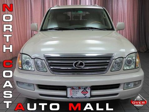 2005 Lexus LX 470 4dr SUV in Akron, OH