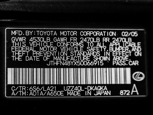 2005 Lexus SC 430 Burbank, CA 27