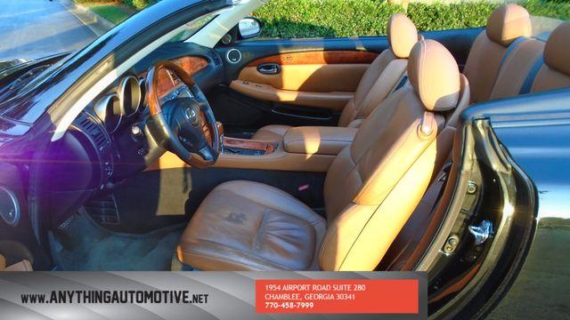 2005 Lexus SC 430 Atlanta, Georgia 31