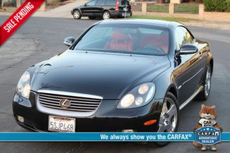 2005 Lexus SC 430 PEBBLE BEACH EDITION NAVIGATION SERVICE RECORDS TIMING BELT DONE in Woodland Hills CA, 91367