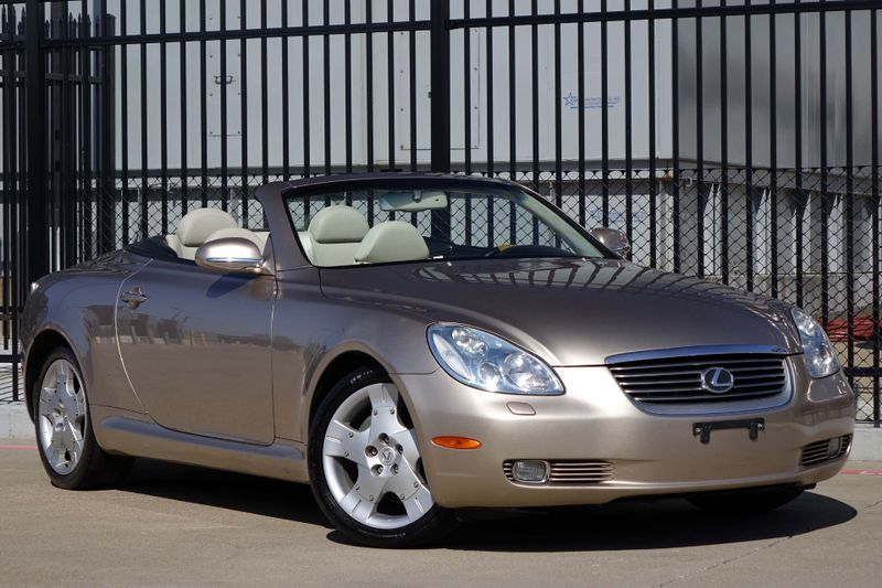 2005 Lexus SC 430 Base* Leather* Hard Top Convert*  | Plano, TX | Carrick's Autos in Plano TX