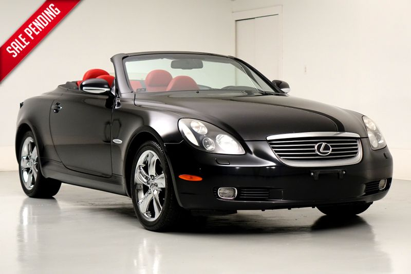 2005 Lexus SC 430 Pebble Beach* Red Leather* Nav* Rare Car* EZ Fin* | Plano, TX | Carrick's Autos in Plano TX
