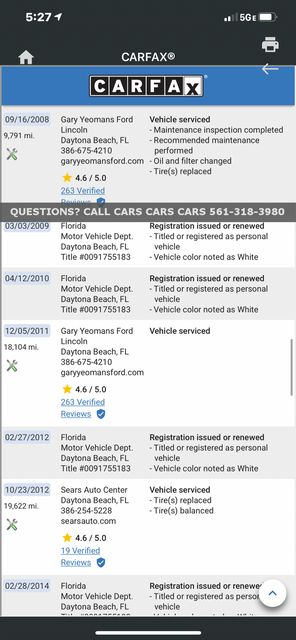 2005 Lincoln Town Car Signature Limited in West Palm Beach, Florida 33411