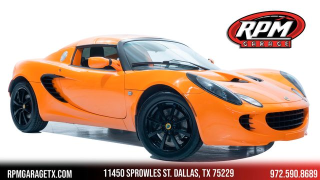 2005 Lotus Elise in Rare Chrome Orange