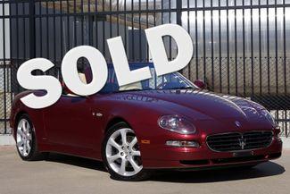 2005 Maserati Spyder Cambiocorsa * SKYHOOK * Xenons * GPS * 38k Miles * Plano, Texas