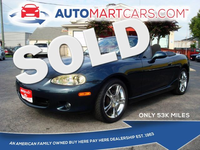 2005 Mazda MX-5 Miata Cloth | Nashville, Tennessee | Auto Mart Used Cars Inc. in Nashville Tennessee