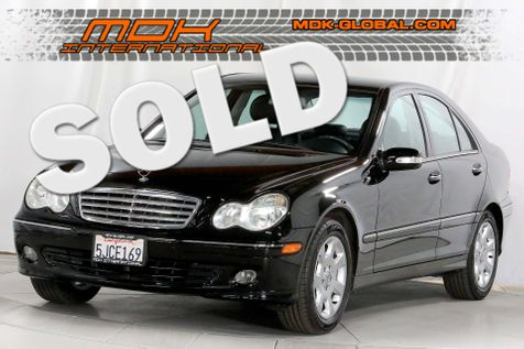 2005 Mercedes-Benz C240 2.6L - Only 63K miles - new tires in Los Angeles
