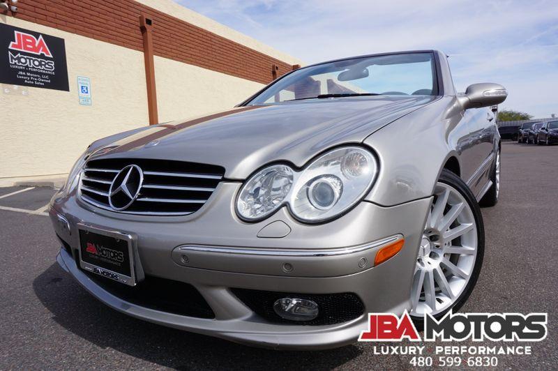 2005 Mercedes-Benz CLK55 AMG Roadster Convertible CLK Class 55 LOW MILES | MESA, AZ | JBA MOTORS in MESA AZ