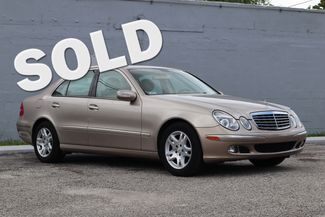 2005 Mercedes-Benz E320 3.2L Hollywood, Florida