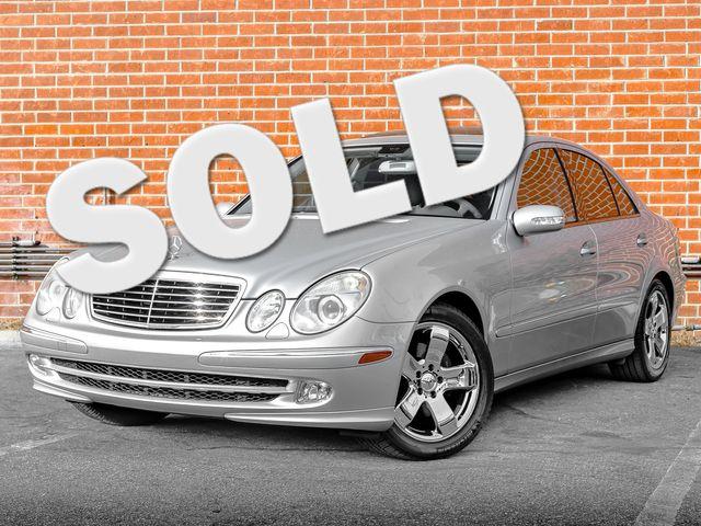 2005 Mercedes-Benz E500 5.0L Burbank, CA