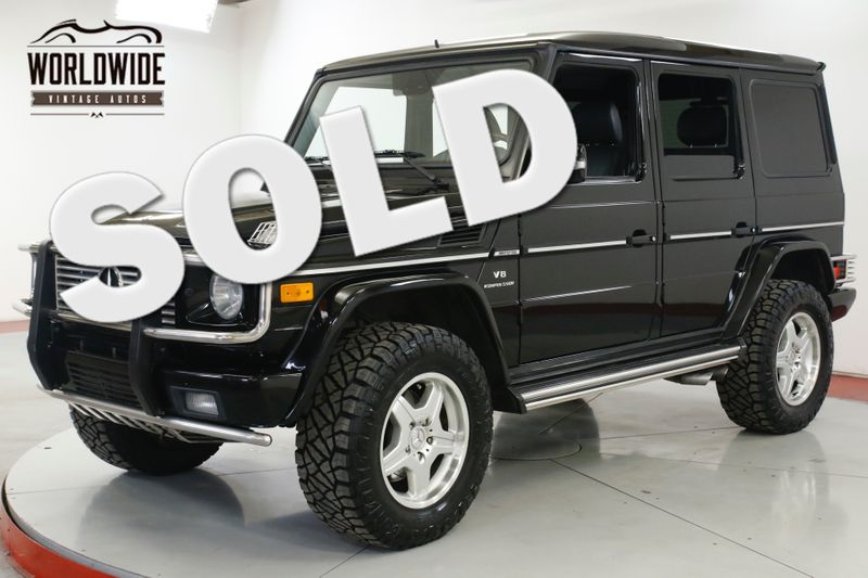 2005 Mercedes-Benz Amg G55 SUPERCHARGED LIFTED. 4X4. EXTRAS SERVICED  | Denver, CO | Worldwide Vintage Autos