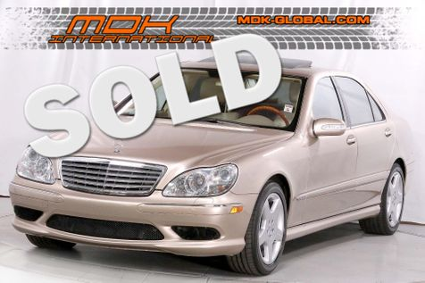 2005 Mercedes-Benz S600 5.5L - AMG pkg - Power rear seats - Keyless GO in Los Angeles