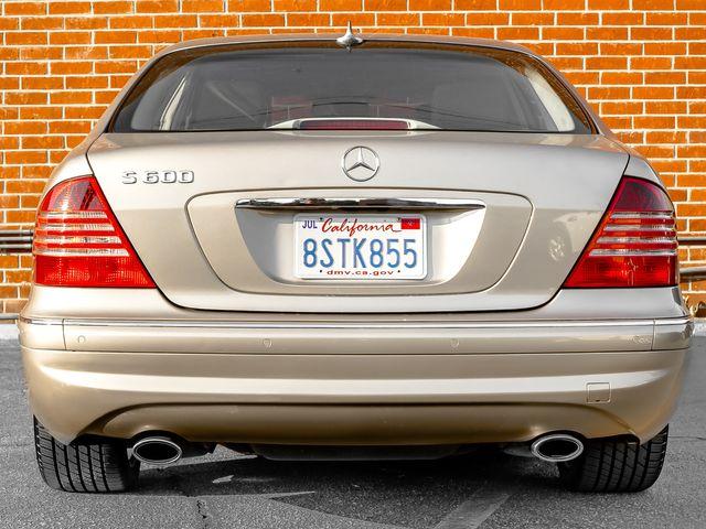 2005 Mercedes-Benz S600 5.5L Burbank, CA 3