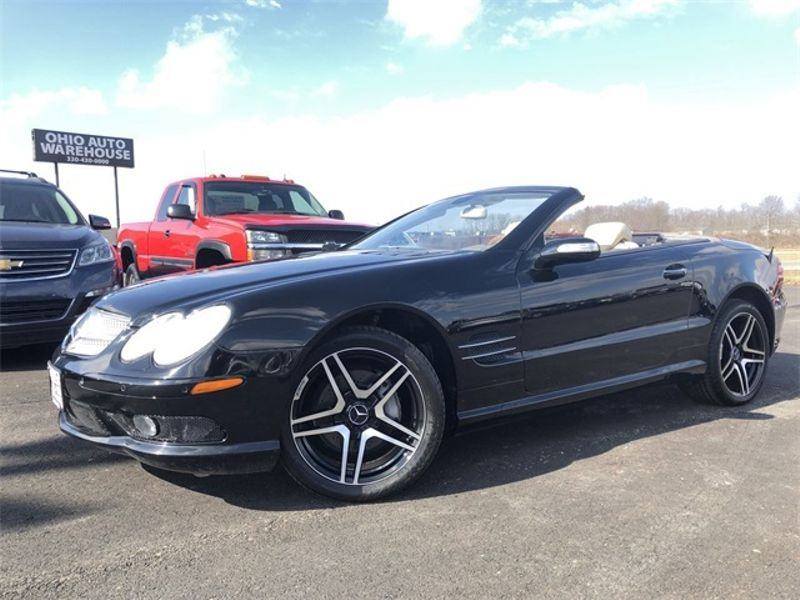 2005 Mercedes-Benz SL-Class SL 500 Convertible V8 Navi Clean Carfax We Finance | Canton, Ohio | Ohio Auto Warehouse LLC in Canton Ohio