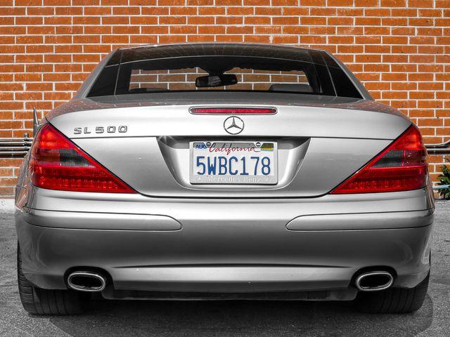 2005 Mercedes-Benz SL500 5.0L Burbank, CA 4