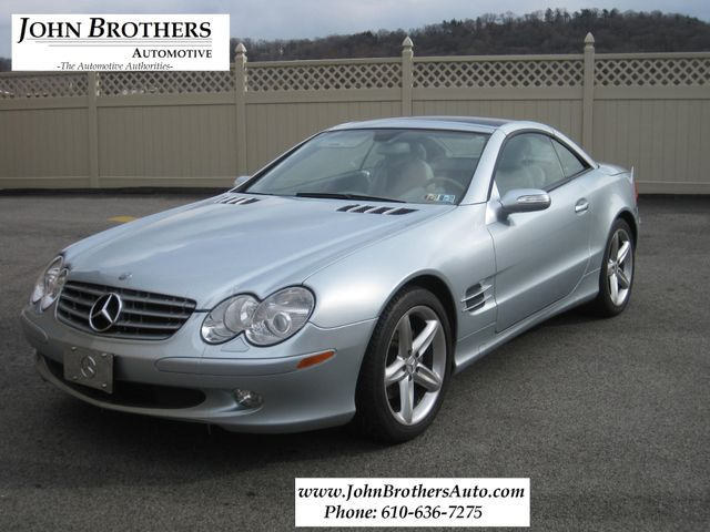 2005 Mercedes-Benz SL500 5.0L Conshohocken, Pennsylvania