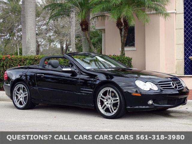 2005 Mercedes Benz Sl500 5 0l In West Palm Beach Florida 33407