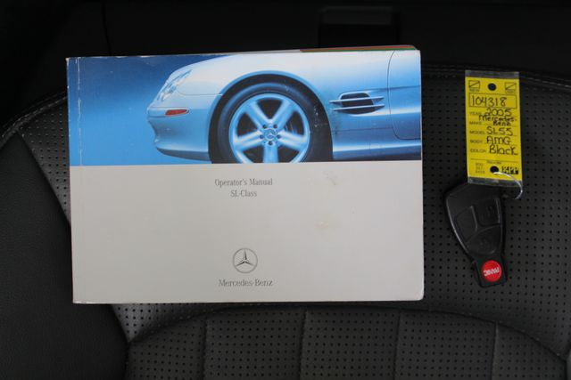 2005 Mercedes-Benz SL55 5.5L AMG  RWD - 5.5L AMG SUPERCHARGED V8 - NAV! Mooresville , NC 19