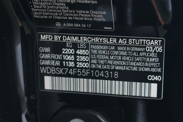 2005 Mercedes-Benz SL55 5.5L AMG  RWD - 5.5L AMG SUPERCHARGED V8 - NAV! Mooresville , NC 52
