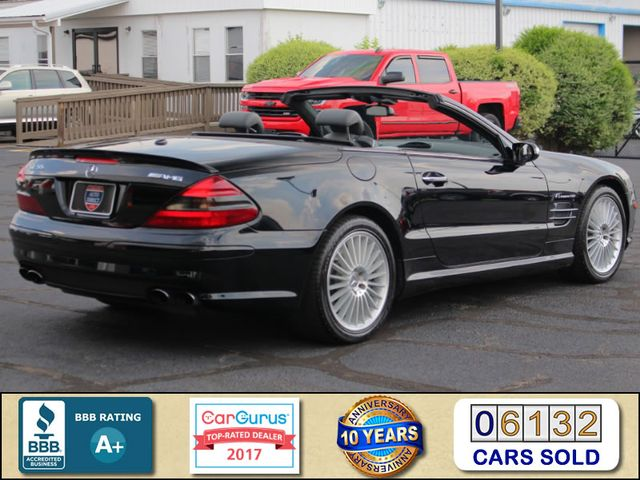 2005 Mercedes-Benz SL55 5.5L AMG  RWD - 5.5L AMG SUPERCHARGED V8 - NAV! Mooresville , NC 2