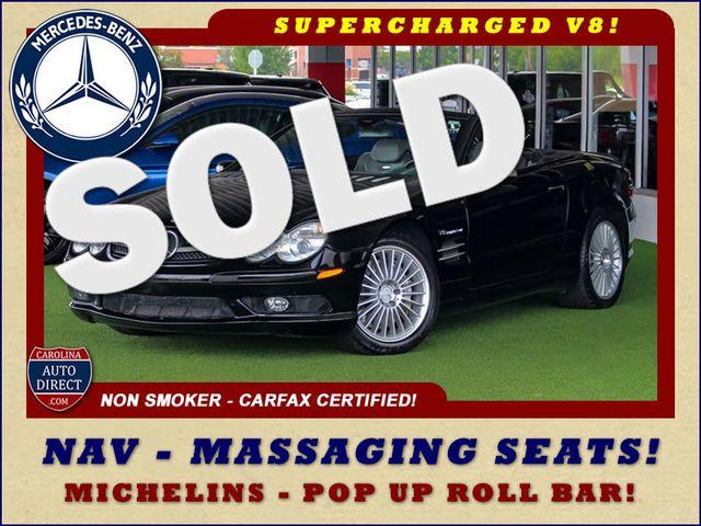 2005 Mercedes-Benz SL55 5.5L AMG  RWD - 5.5L AMG SUPERCHARGED V8 - NAV! Mooresville , NC 0