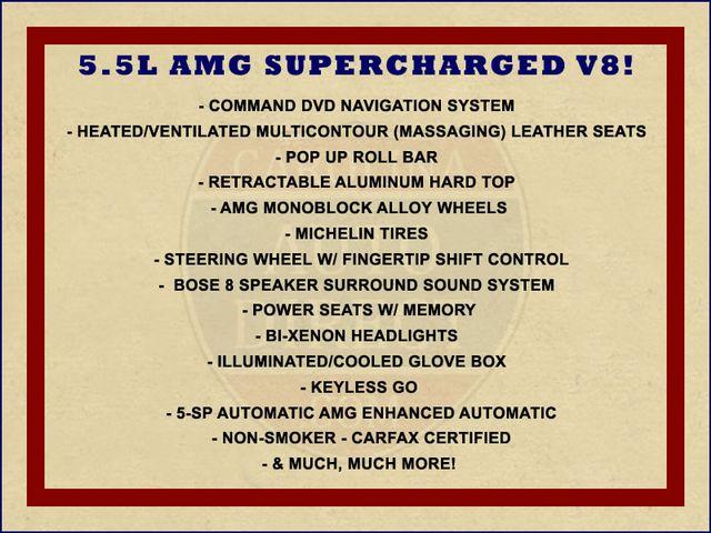 2005 Mercedes-Benz SL55 5.5L AMG  RWD - 5.5L AMG SUPERCHARGED V8 - NAV! Mooresville , NC 1