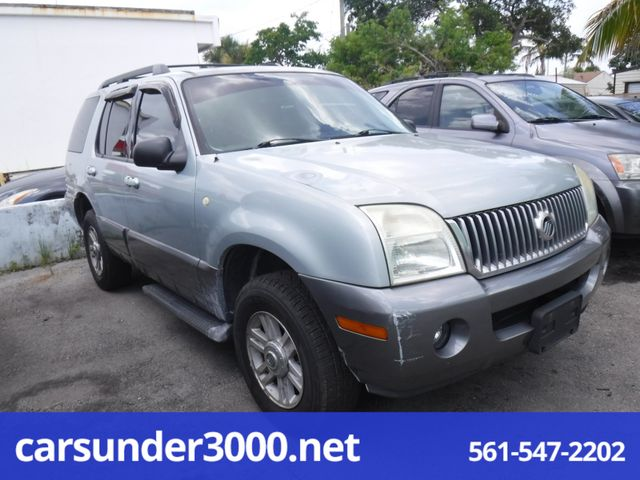 2005 Mercury Mountaineer Convenience Lake Worth , Florida