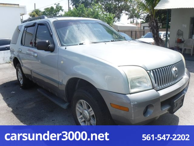 2005 Mercury Mountaineer Convenience Lake Worth , Florida 2