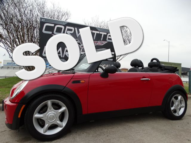 2005 Mini Convertible Convertible 5-Speed, CD Player, Alloy Wheels 92k! | Dallas, Texas | Corvette Warehouse  in Dallas Texas