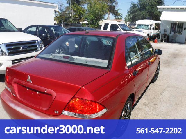 2005 Mitsubishi Lancer ES Lake Worth , Florida 2