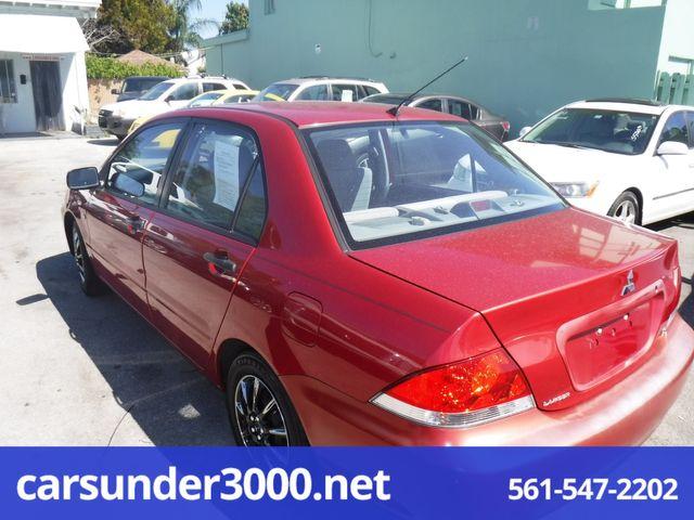 2005 Mitsubishi Lancer ES Lake Worth , Florida 3