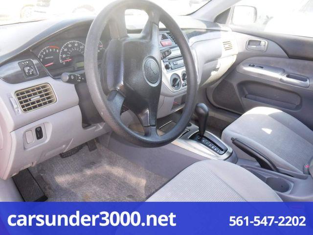 2005 Mitsubishi Lancer ES Lake Worth , Florida 4