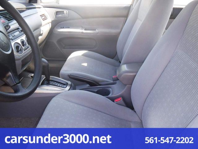 2005 Mitsubishi Lancer ES Lake Worth , Florida 7