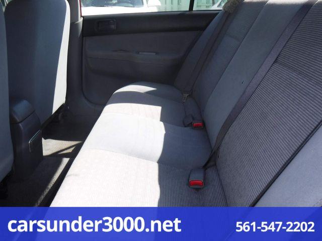 2005 Mitsubishi Lancer ES Lake Worth , Florida 8