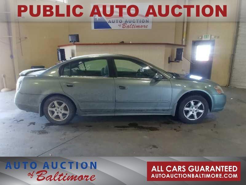 2005 Nissan Altima 2 5 S Joppa Md Auto Auction Of Baltimore