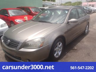 2005 Nissan Altima 2.5 SL Lake Worth , Florida 1