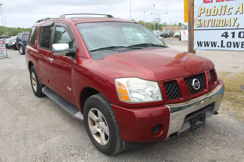 2005 Nissan Armada SE  city MD  South County Public Auto Auction  in Harwood, MD