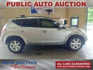 2005 Nissan Murano SE   JOPPA, MD   Auto Auction of Baltimore  in Joppa MD