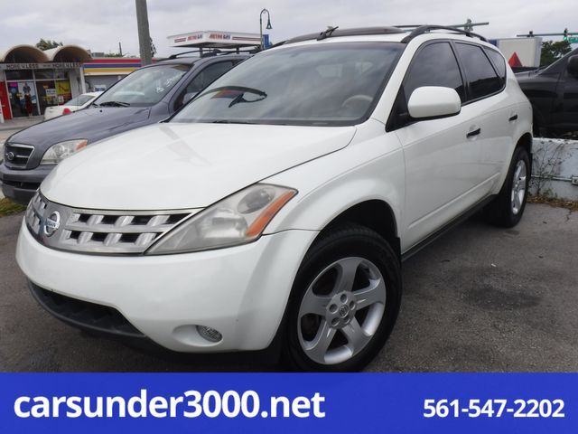2005 Nissan Murano SL Lake Worth , Florida