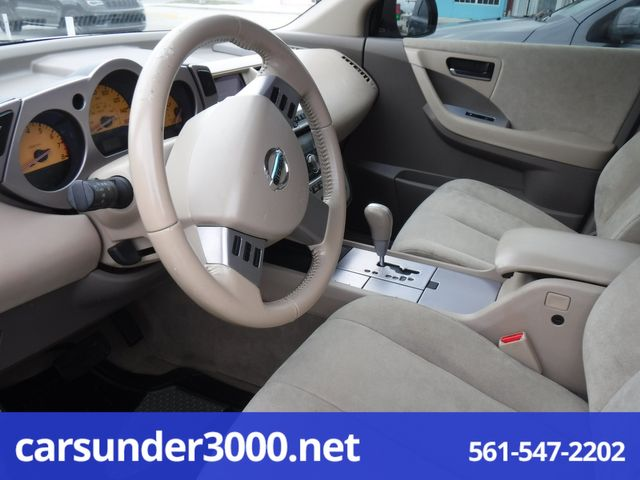 2005 Nissan Murano SL Lake Worth , Florida 4