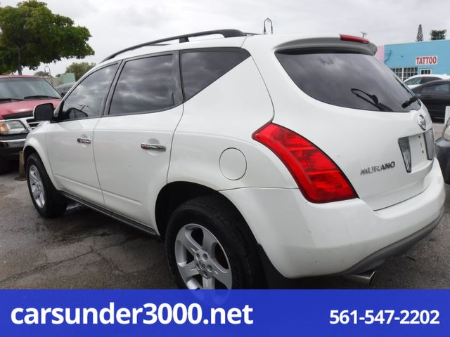 2005 Nissan Murano SL Lake Worth , Florida 1