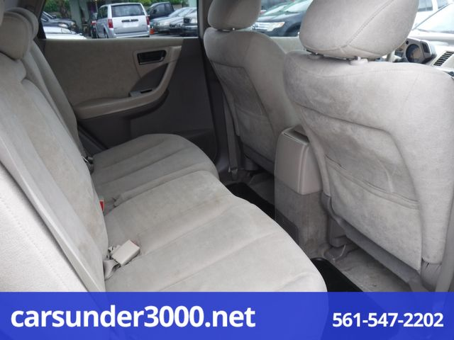 2005 Nissan Murano SL Lake Worth , Florida 7