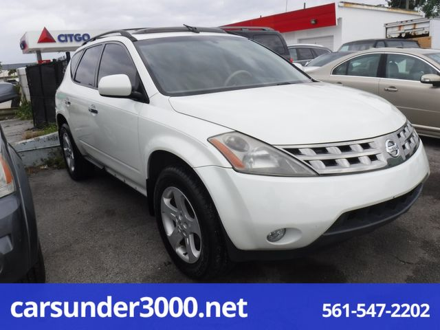 2005 Nissan Murano SL Lake Worth , Florida 2