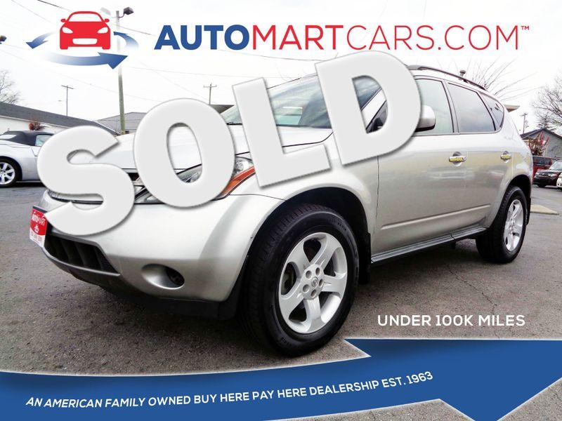 2005 Nissan Murano SL | Nashville, Tennessee | Auto Mart Used Cars Inc. in Nashville Tennessee