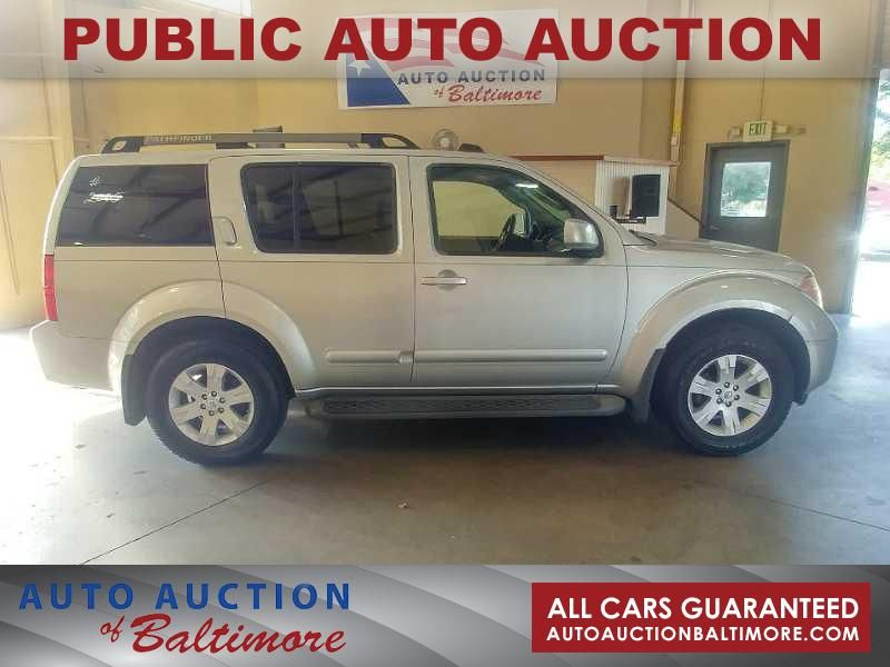 2005 Nissan Pathfinder LE   JOPPA, MD   Auto Auction of Baltimore  in JOPPA MD