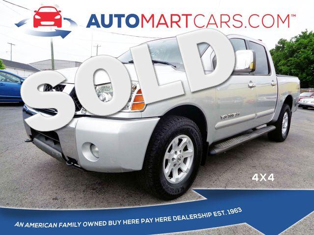 2005 Nissan Titan LE | Nashville, Tennessee | Auto Mart Used Cars Inc. in Nashville Tennessee